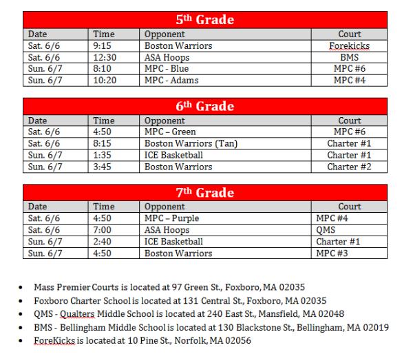 club-championship-master-schedule